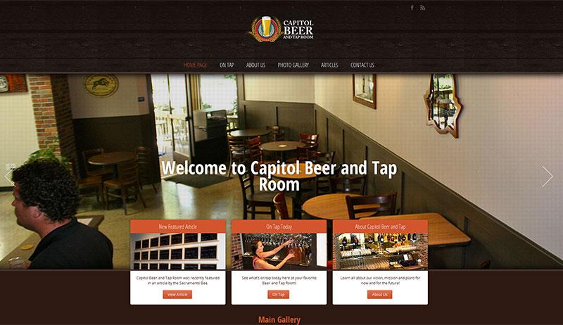 Capitol Beer And Tap Room Menu
