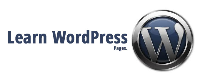 Learn WordPress: Pages