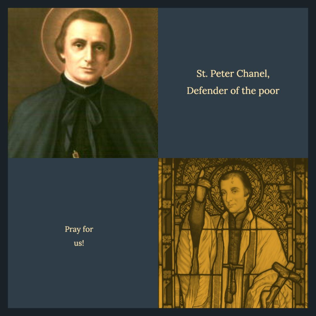 Memorializing St. Peter Chanel st peter chanel 1024x1024